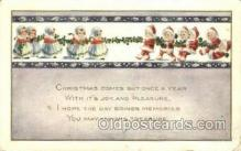 hol003245 - Christmas, Santa Claus Postcard Post card