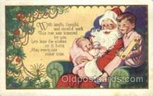hol003256 - Christmas, Santa Claus Postcard Post card