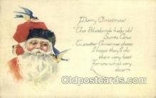 hol003258 - Christmas, Santa Claus Postcard Post card