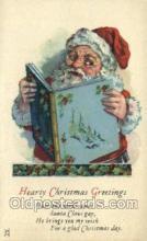 hol003260 - Christmas, Santa Claus Postcard Post card
