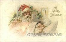 hol003267 - Christmas, Santa Claus Postcard Post card