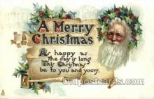 hol003268 - Christmas, Santa Claus Postcard Post card