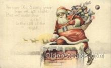 hol003271 - Christmas, Santa Claus Postcard Post card