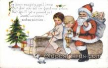 hol003272 - Christmas, Santa Claus Postcard Post card