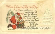 hol003274 - Christmas, Santa Claus Postcard Post card