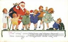 hol003275 - Christmas, Santa Claus Postcard Post card