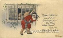 hol003279 - Christmas, Santa Claus Postcard Post card