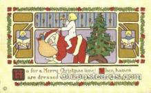 hol003280 - Christmas, Santa Claus Postcard Post card