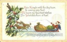 hol003281 - Christmas, Santa Claus Postcard Post card