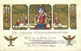 hol003283 - Christmas, Santa Claus Postcard Post card