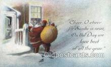 hol003285 - Christmas, Santa Claus Postcard Post card