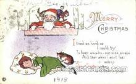hol003288 - Christmas, Santa Claus Postcard Post card