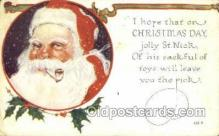 hol003297 - Christmas, Santa Claus Postcard Post card