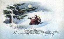 hol003301 - Christmas, Santa Claus Postcard Post card