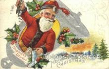 hol003309 - Christmas, Santa Claus Postcard Post card