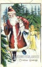 hol003314 - Christmas, Santa Claus Postcard Post card