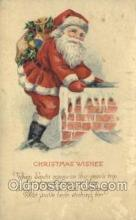 hol003315 - Christmas, Santa Claus Postcard Post card