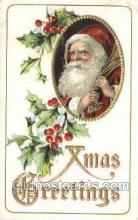 hol003317 - Christmas, Santa Claus Postcard Post card