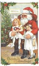 hol003320 - Christmas, Santa Claus Postcard Post card