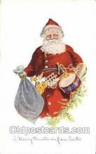 hol003328 - Christmas, Santa Claus Postcard Post card