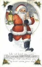 hol003330 - Christmas, Santa Claus Postcard Post card