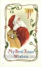 hol003331 - Christmas, Santa Claus Postcard Post card