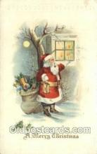 hol003334 - Christmas, Santa Claus Postcard Post card
