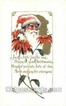 hol003338 - Christmas, Santa Claus Postcard Post card