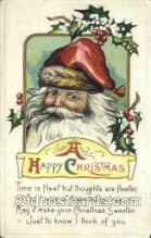 hol003341 - Christmas, Santa Claus Postcard Post card