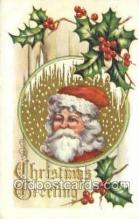 hol003343 - Christmas, Santa Claus Postcard Post card
