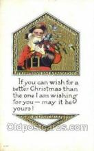 hol003345 - Christmas, Santa Claus Postcard Post card