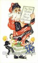 hol003346 - Christmas, Santa Claus Postcard Post card
