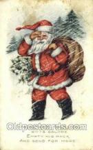hol003349 - Christmas, Santa Claus Postcard Post card