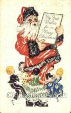 hol003351 - Christmas, Santa Claus Postcard Post card