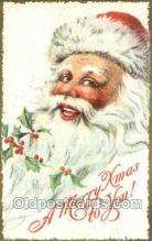 hol003353 - Christmas, Santa Claus Postcard Post card