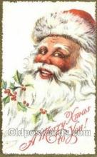 hol003354 - Christmas, Santa Claus Postcard Post card