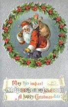 hol003359 - Christmas, Santa Claus Postcard Post card