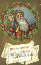 hol003361 - Christmas, Santa Claus Postcard Post card