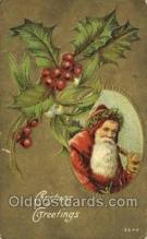 hol003363 - Christmas, Santa Claus Postcard Post card