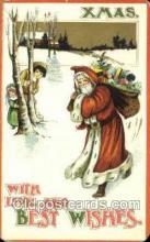 hol003379 - Christmas, Santa Claus Postcard Post card