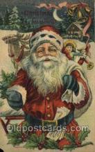 hol003380 - Christmas, Santa Claus Postcard Post card
