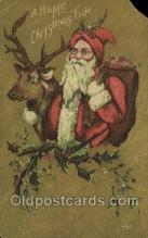hol003384 - Christmas, Santa Claus Postcard Post card