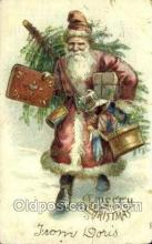 hol003387 - Christmas, Santa Claus Postcard Post card