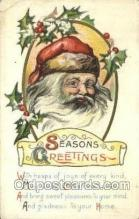 hol003393 - Christmas, Santa Claus Postcard Post card