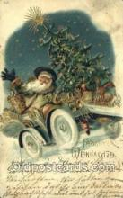 hol003395 - Christmas, Santa Claus Postcard Post card