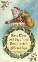 hol003399 - Christmas, Santa Claus Postcard Post card