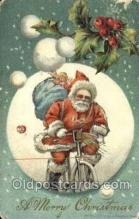 hol003401 - Christmas, Santa Claus Postcard Post card