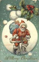 hol003401 - Christmas, Santa Claus Postcard Post card