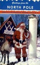 hol003402 - Christmas, Santa Claus Postcard Post card