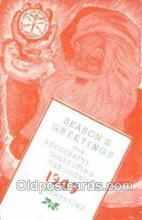 hol003403 - Christmas, Santa Claus Postcard Post card